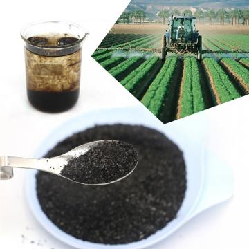 Buy Black 100% Water Soluble Fulvic Acid Powder/Flake Fertilizer
